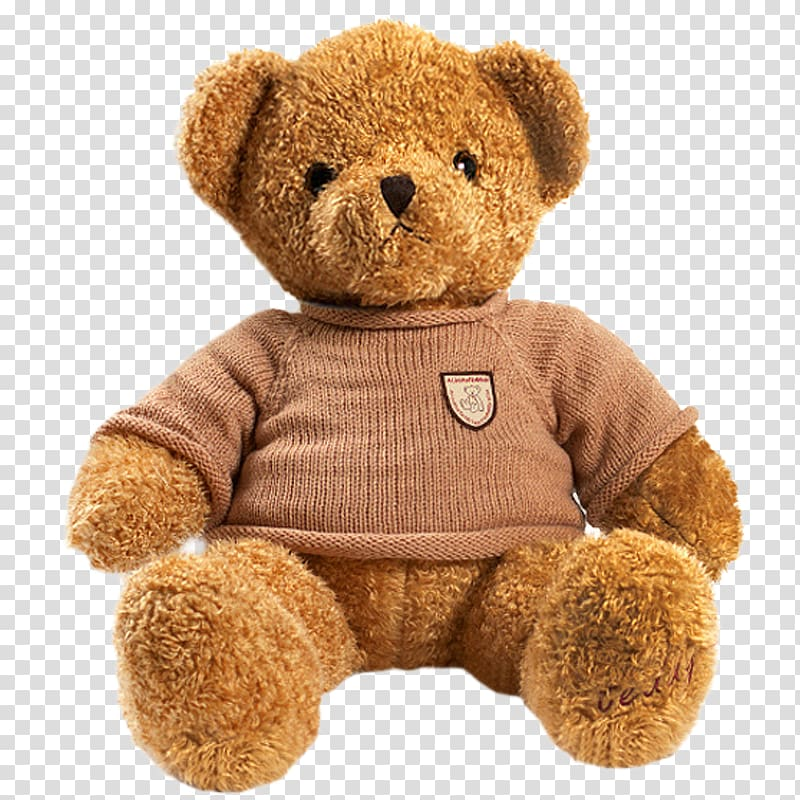 Plush toys clipart banner transparent library Brown bear plush toy wearing sweater, Teddy bear Stuffed toy ... banner transparent library