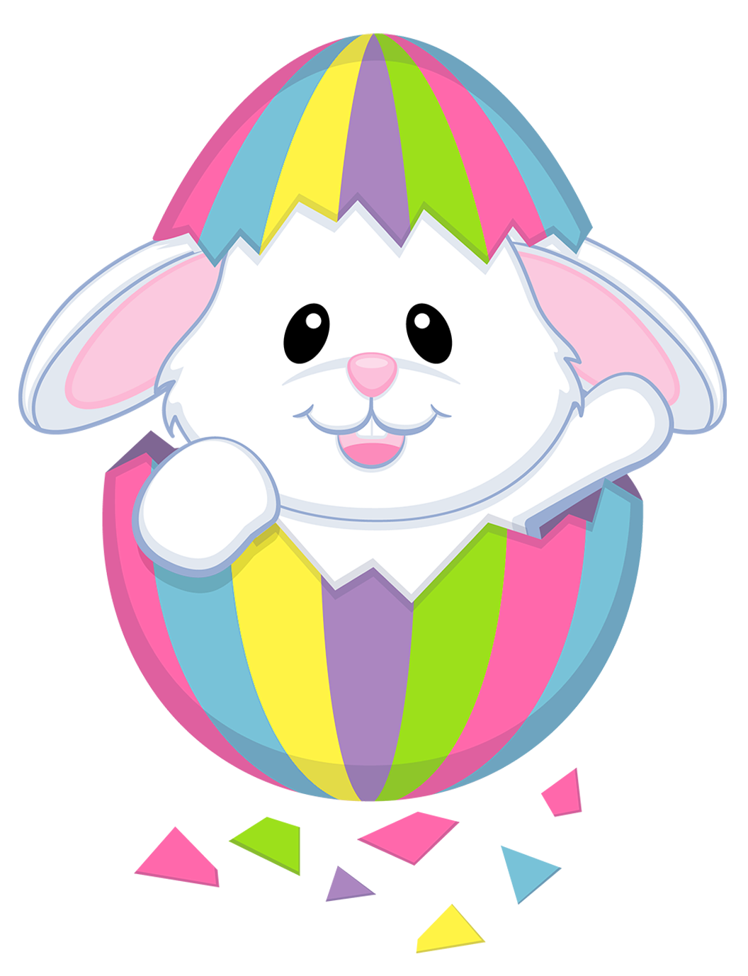Png clipart transparent background free library White bunny clipart transparent background - ClipartFest free library
