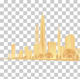 Png gold city clipart