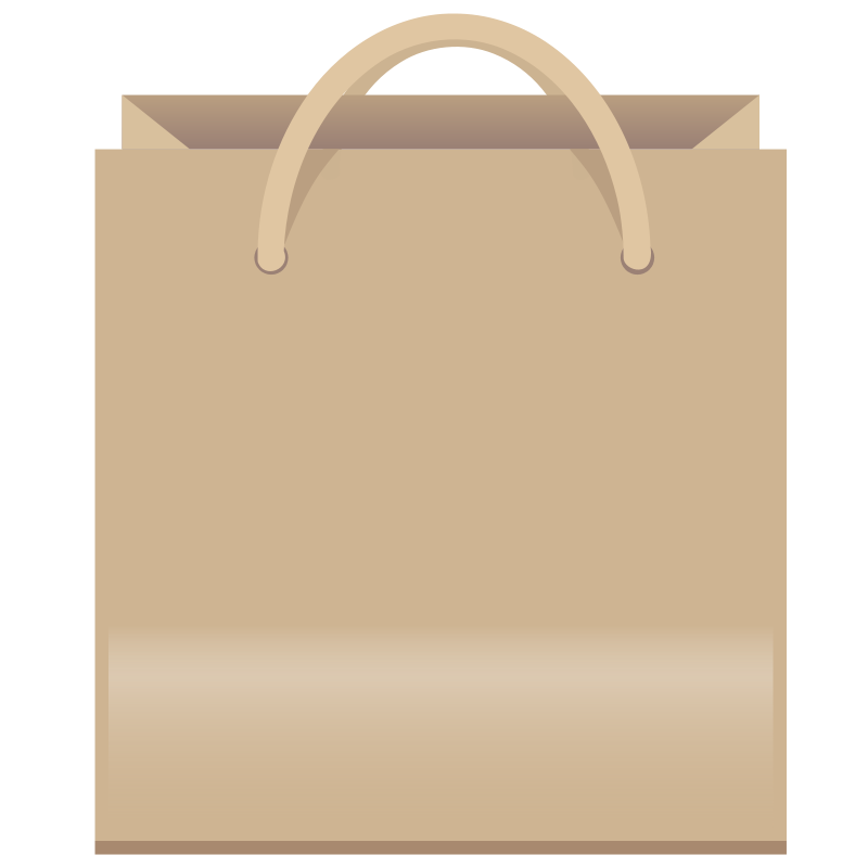 Png grocery bag clipart black and white word art banner library library Shopping Bag Clipart - Clipartion.com banner library library
