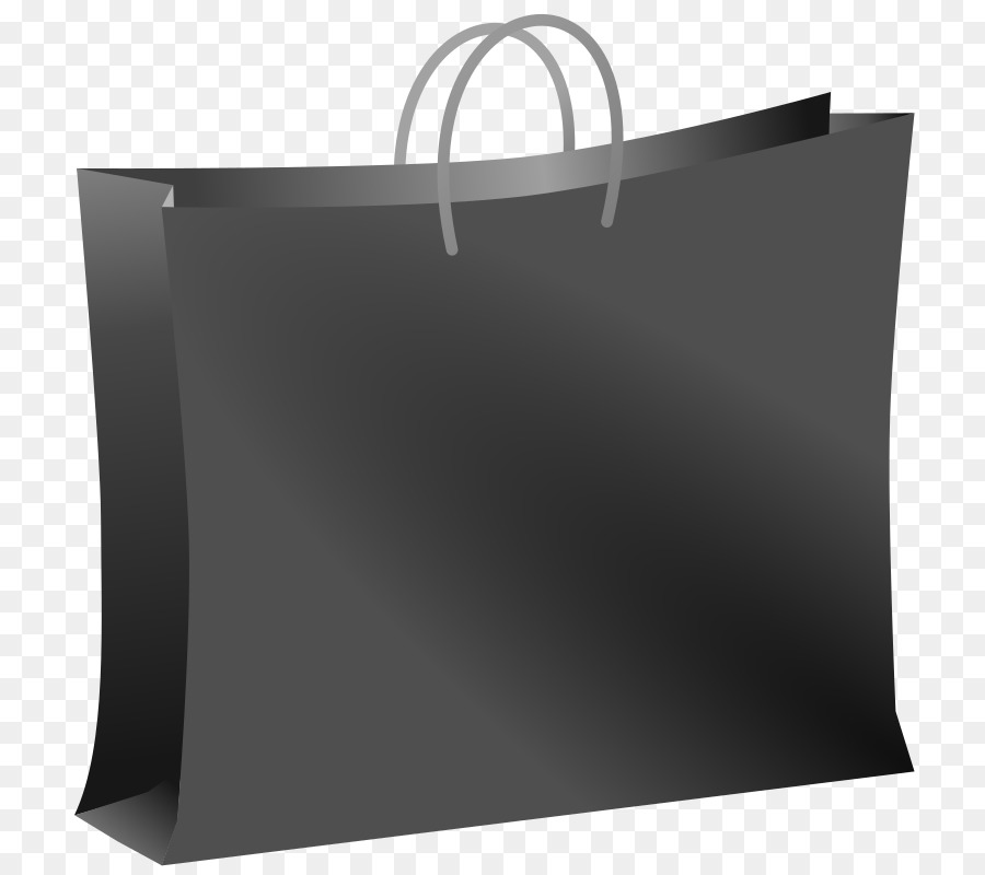 Png grocery bag clipart black and white word art vector black and white library Shopping Bags Trolleys Black png download - 789*800 - Free ... vector black and white library
