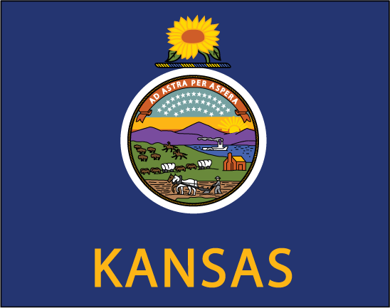 Png kansas state logo clipart image library library Kansas Flag Clipart - Clipart Kid image library library