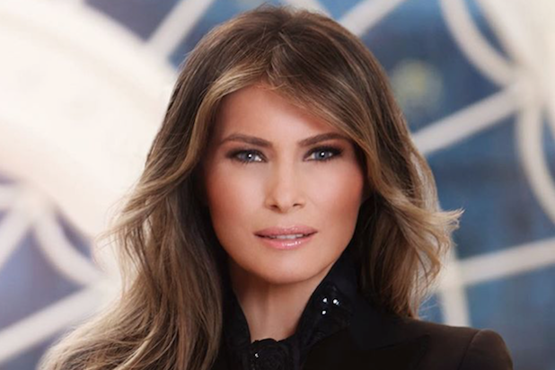 Pngs of melania faces picture royalty free library Melania Trump\'s Ginormous Bling in White House Portrait ... picture royalty free library