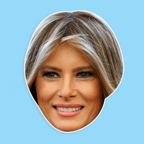Pngs of melania faces free library Happy Melania Trump Mask - Perfect for Halloween, Costume Party Mask,  Masquerades, Parties, Festivals, Concerts - Jumbo Size Waterproof Laminated  Mask free library