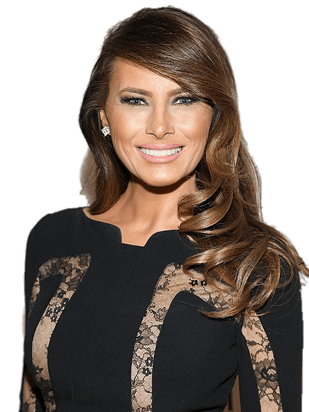 Pngs of melania faces svg transparent download Melania Trump Portrait transparent PNG - StickPNG svg transparent download