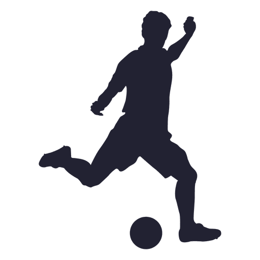 Pngs of soccer clip library library Football player kicking silhouette - Transparent PNG & SVG ... clip library library