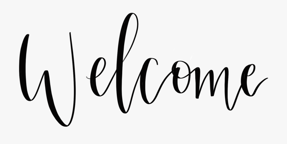 Pngs welcome lettering graphic library Journey Drawing Hand Lettering - Calligraphy Welcome ... graphic library