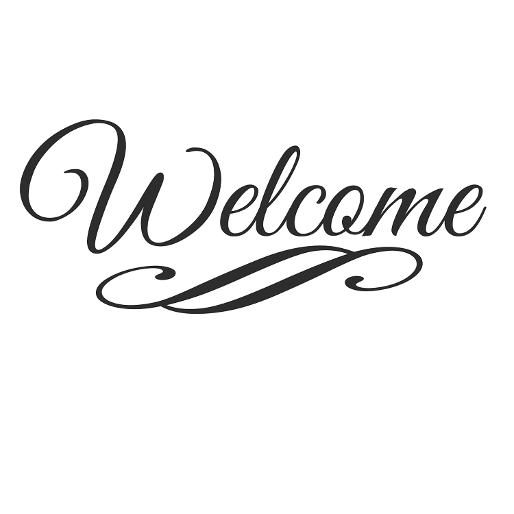 Pngs welcome lettering picture black and white download Welcome Vinyl Lettering | mom\'s party | Vinyl lettering ... picture black and white download