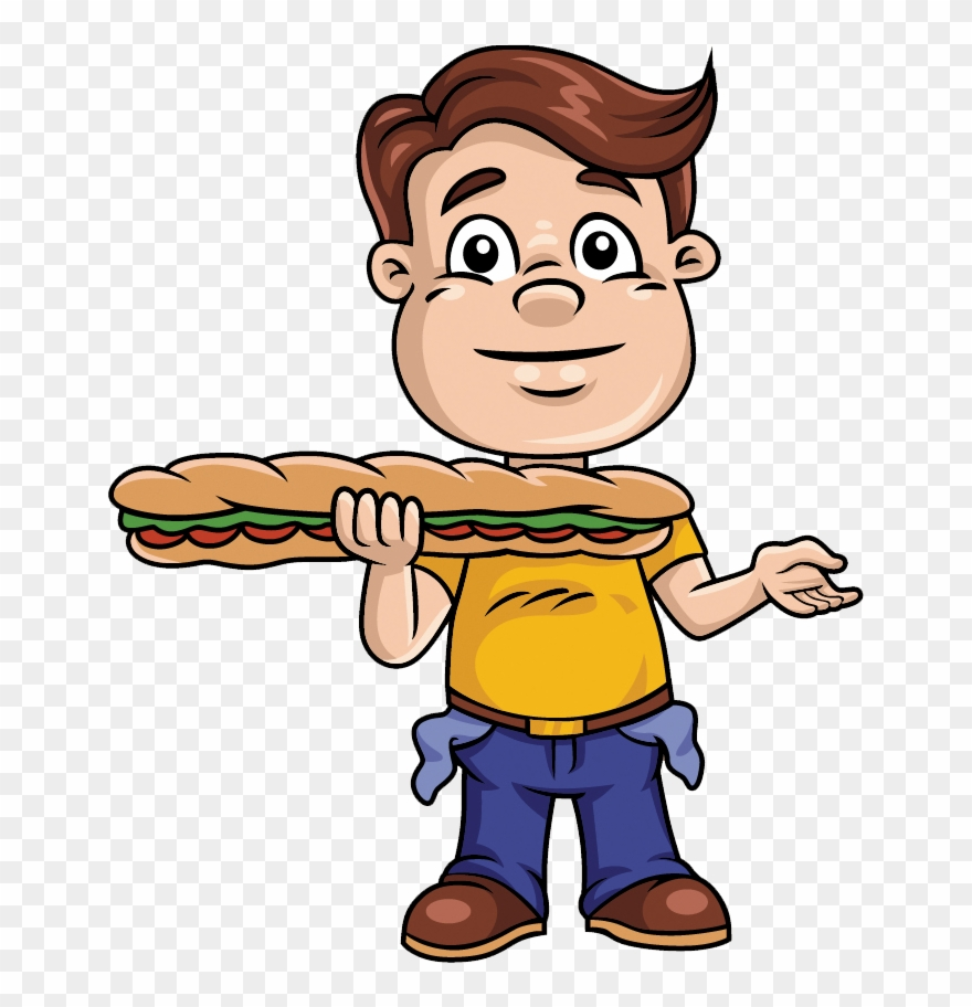 Po clipart image black and white library Garlic Po-boys Clipart (#2157128) - PinClipart image black and white library