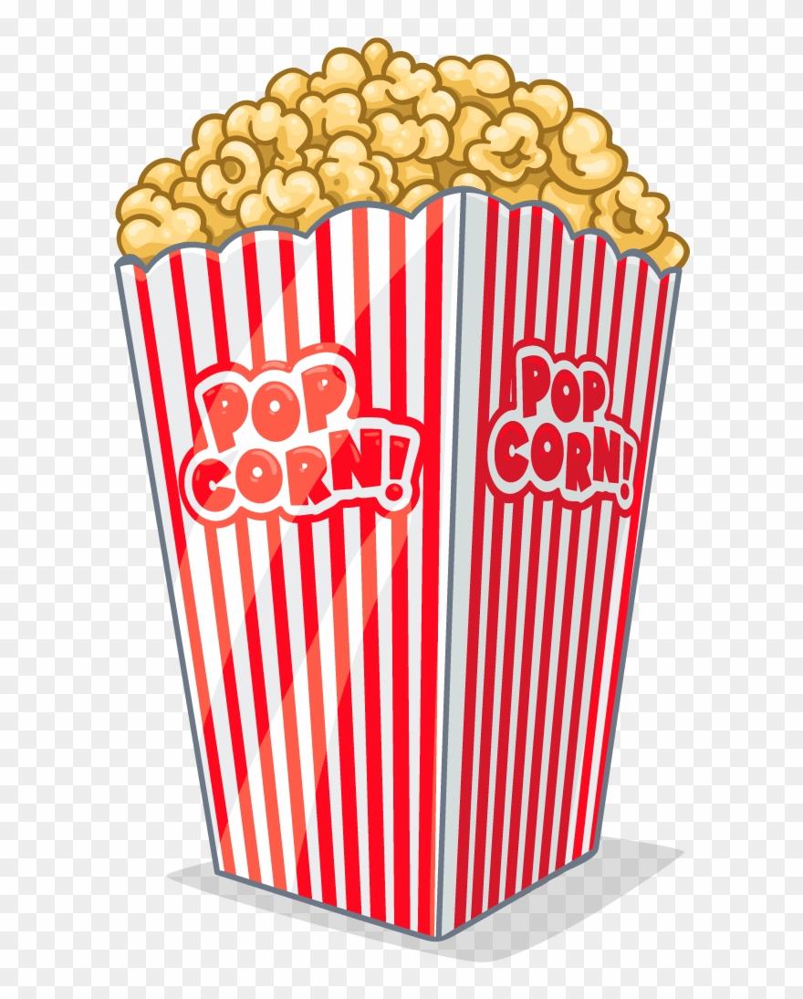 Popcorn background clipart transparent download Clipart Tv And Popcorn - Transparent Background Popcorn Clip ... transparent download