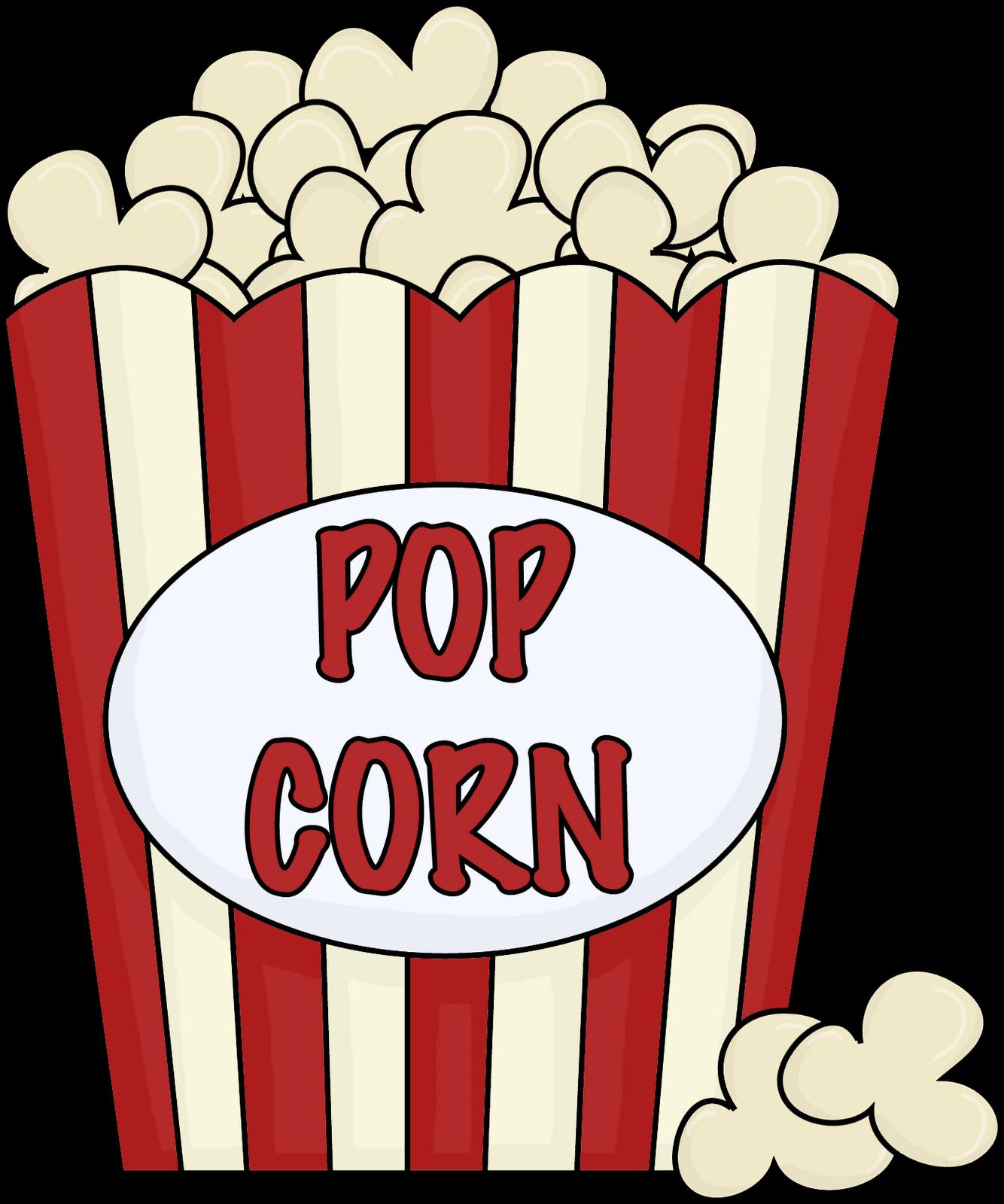 Pocorn clipart clip art Popcorn Clip Art Black And White Free Clipart Images clip art