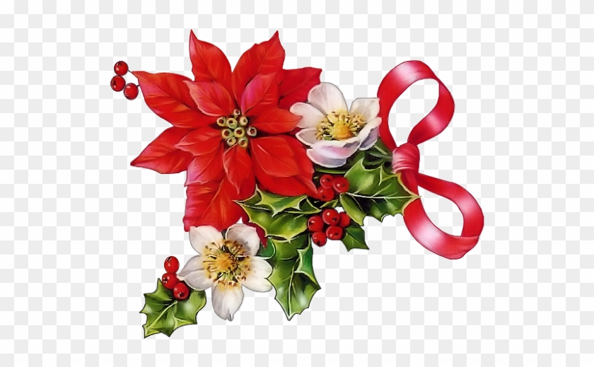 Poinettia clipart clipart library Poinsettia Clipart Beautiful Christmas - Christmas ... clipart library