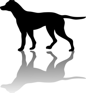 Pointer dog clipart vector free download Free Pointer Dog Clip Art Image - Silhouette of a pointer dog pointing vector free download
