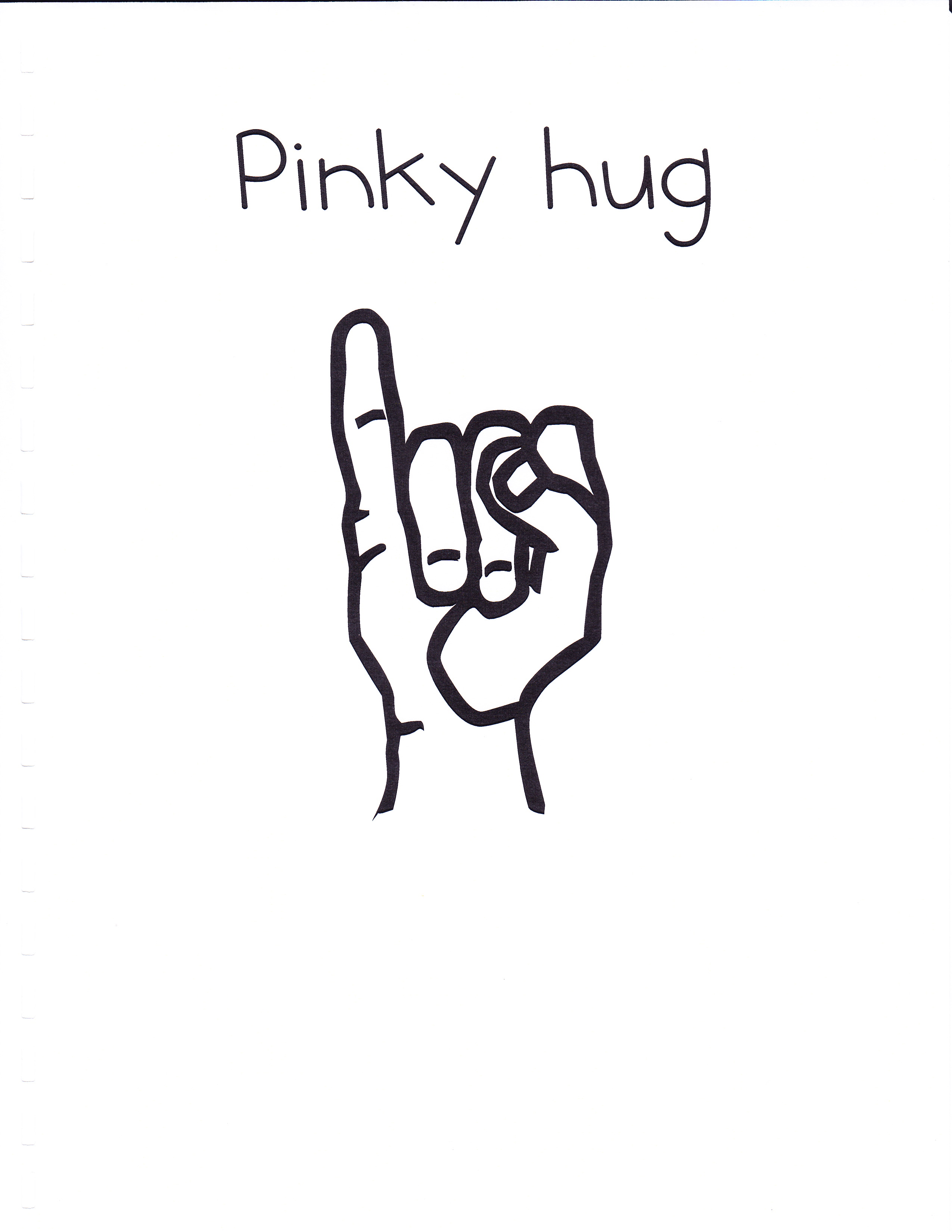 Pointer finger and pinky finger clipart images image free Most Useful Fingers image free