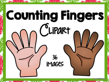 Pointer finger and pinky finger clipart images svg free Counting Fingers Clipart by Teacher Laura | Teachers Pay Teachers svg free