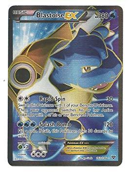 Pokemon card clipart graphic black and white stock Blastoise Ex Full Art 142/146 Xy Pokemon Card, Card Games ... graphic black and white stock