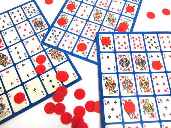 Pokeno clipart clip art royalty free stock Vintage PO-KE-NO Poker - Keno - Bingo game - vintage party ... clip art royalty free stock