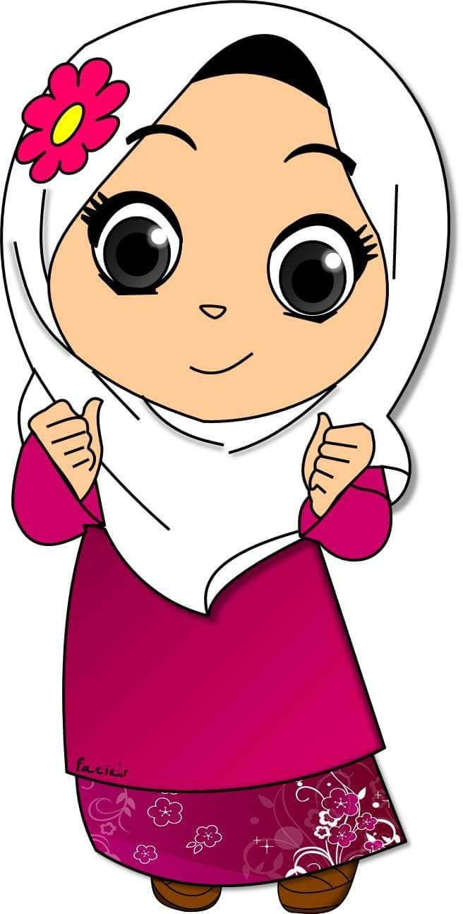 Pola clipart banner transparent stock At Clipart Cartoon Muslim Anak Pola | Clip Art banner transparent stock