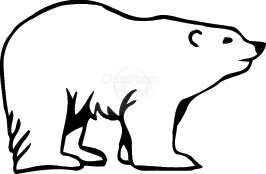 Polar bear black and white clipart transparent Free Polar Bear Clipart Black And White, Download Free Clip ... transparent