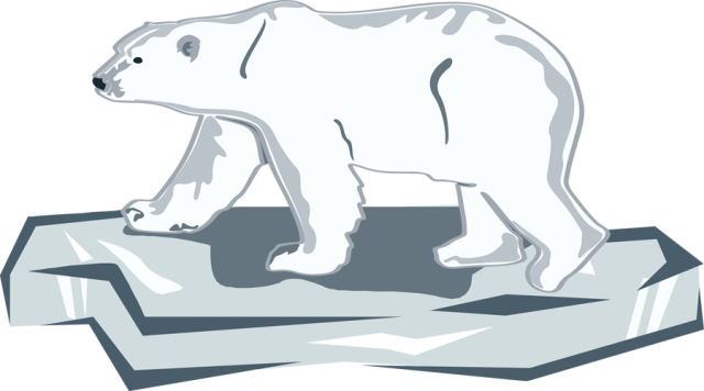 Polar bear on ice clipart vector black and white Download Clipart Transparent Stock Day - Polar Bear On Ice ... vector black and white