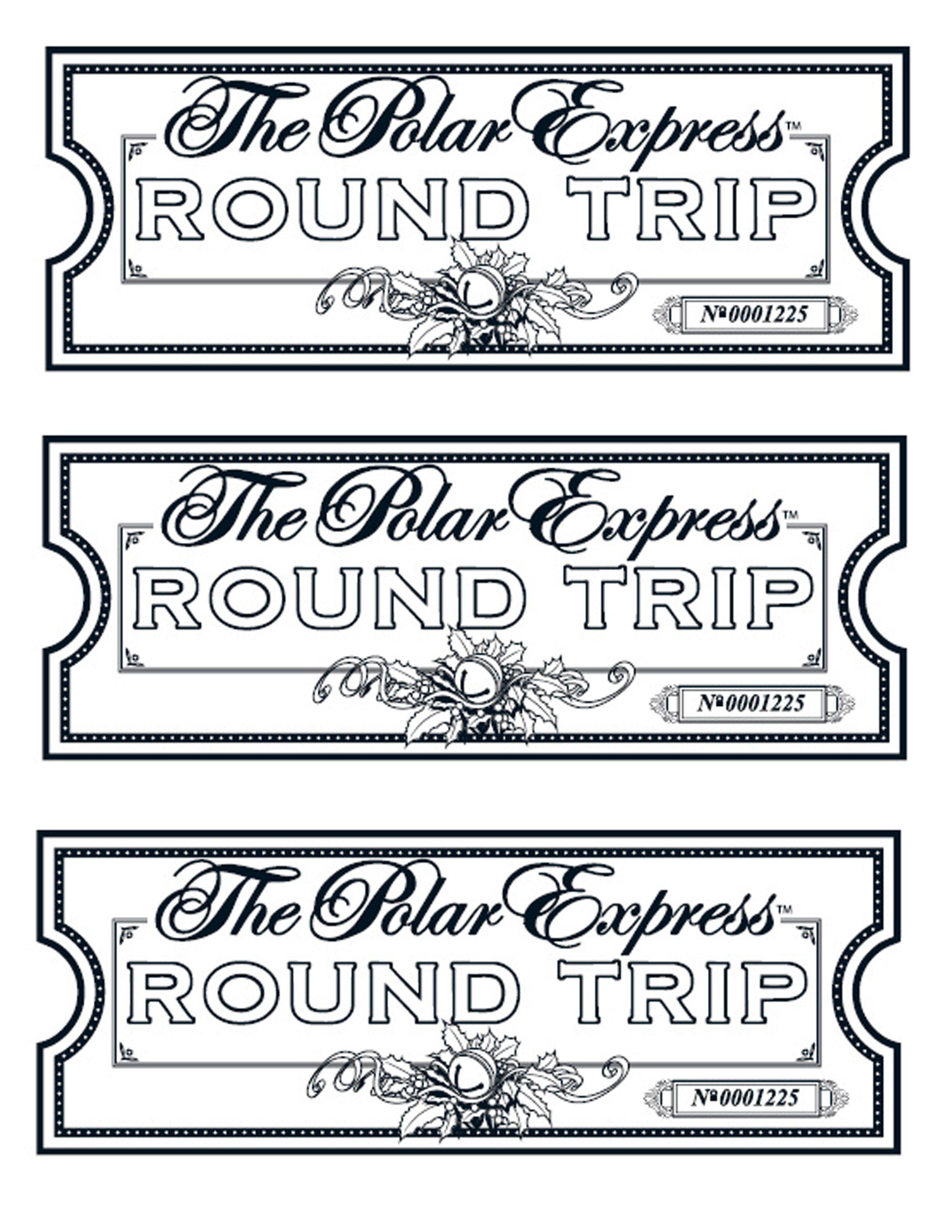 Polar express golden ticket clipart jpg black and white stock My take on the Polar Express tickets. We printed them on ... jpg black and white stock