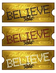 """Polar express golden ticket clipart image free library Rushdoony Takes a Ride on the """"Polar Express"""" 