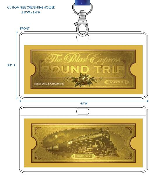 Polar express train ticket clipart image free download THE POLAR EXPRESS | Believe the Magic on This Holiday Season ... image free download