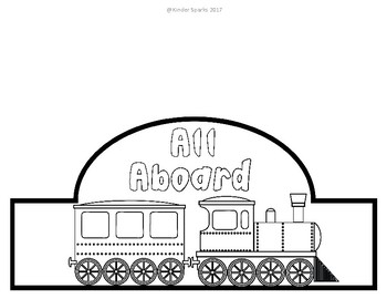 Polar express train clipart black and white jpg download Polar Express Train Hat jpg download