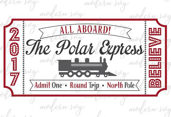 Polar express train ticket clipart clip art library download Polar Express Ticket, Polar Express, Fixer Upper Christmas ... clip art library download