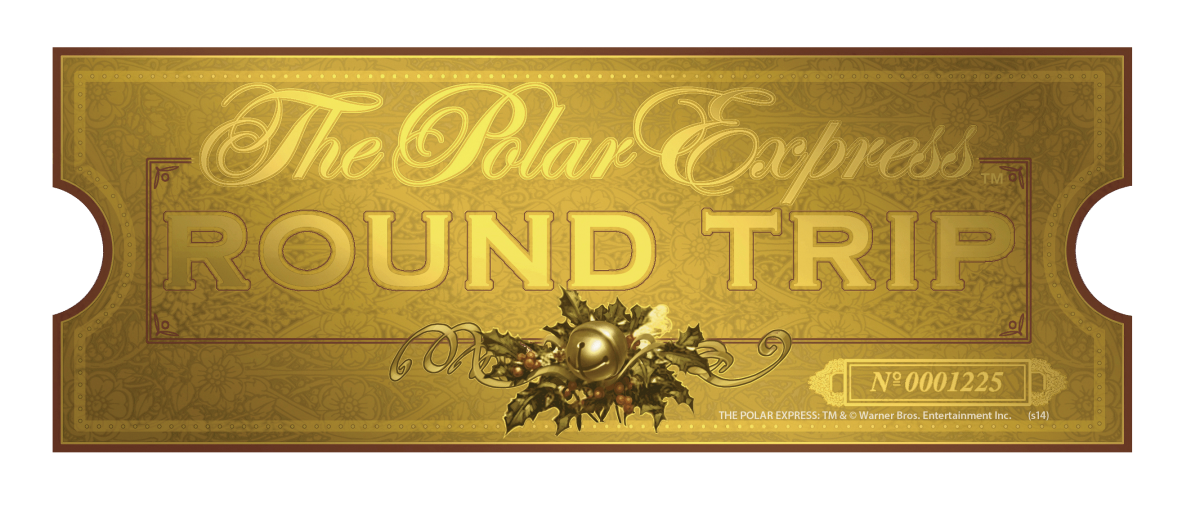 Polar express train ticket clipart banner freeuse stock THE POLAR EXPRESS | Believe the Magic on This Holiday Season ... banner freeuse stock