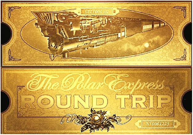 Polar express train ticket clipart clip art black and white Polar Express FREE printable ticket   Christmas   Polar ... clip art black and white