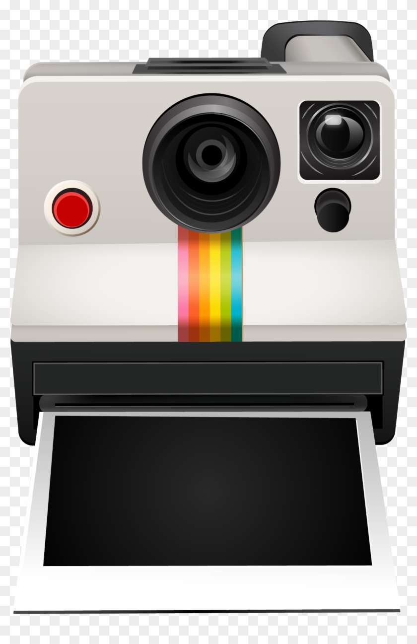 Polaroid camera clipart png library library The Polaroid Camera Clipart Instant Polaroid - Polaroid ... png library library
