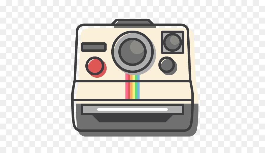 Polaroid camera clipart clipart freeuse download Polaroid Camera Drawing png download - 512*512 - Free ... clipart freeuse download