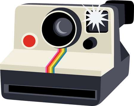 Polaroid camera clipart freeuse library Polaroid camera clipart 1 » Clipart Station freeuse library