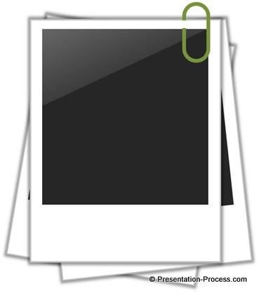 Polaroid frame clipart image freeuse stock Easy Polaroid Picture Frame In PowerPoint image freeuse stock