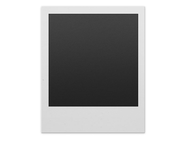 Polaroid frame clipart free transparent download Polaroid Frame PNG For Photoshop | Inspiration & Magic on ... transparent download