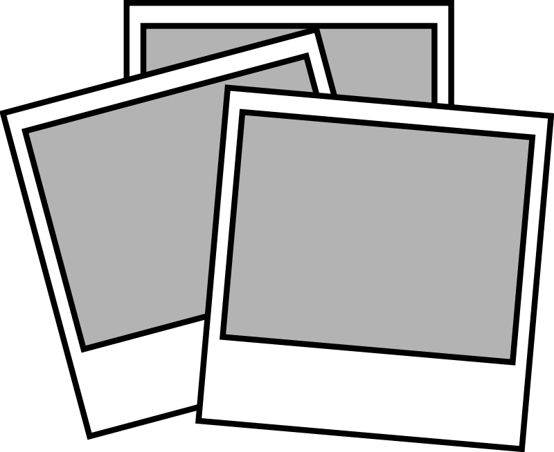 Polaroid picture clipart graphic freeuse download Polaroid clipart black and white 5 » Clipart Portal graphic freeuse download