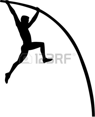 Pole vault clip art clip royalty free library 471 The Pole Vault Stock Vector Illustration And Royalty Free The ... clip royalty free library