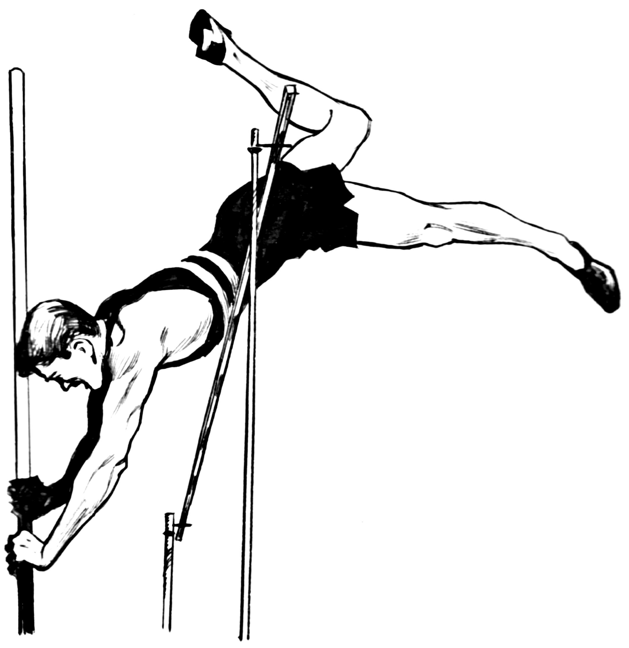 Pole vault clip art banner Pole-vault Clipart - Clipart Kid banner