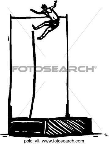 Pole vault clip art clip library download Clip Art of Pole Vault pole_vlt - Search Clipart, Illustration ... clip library download