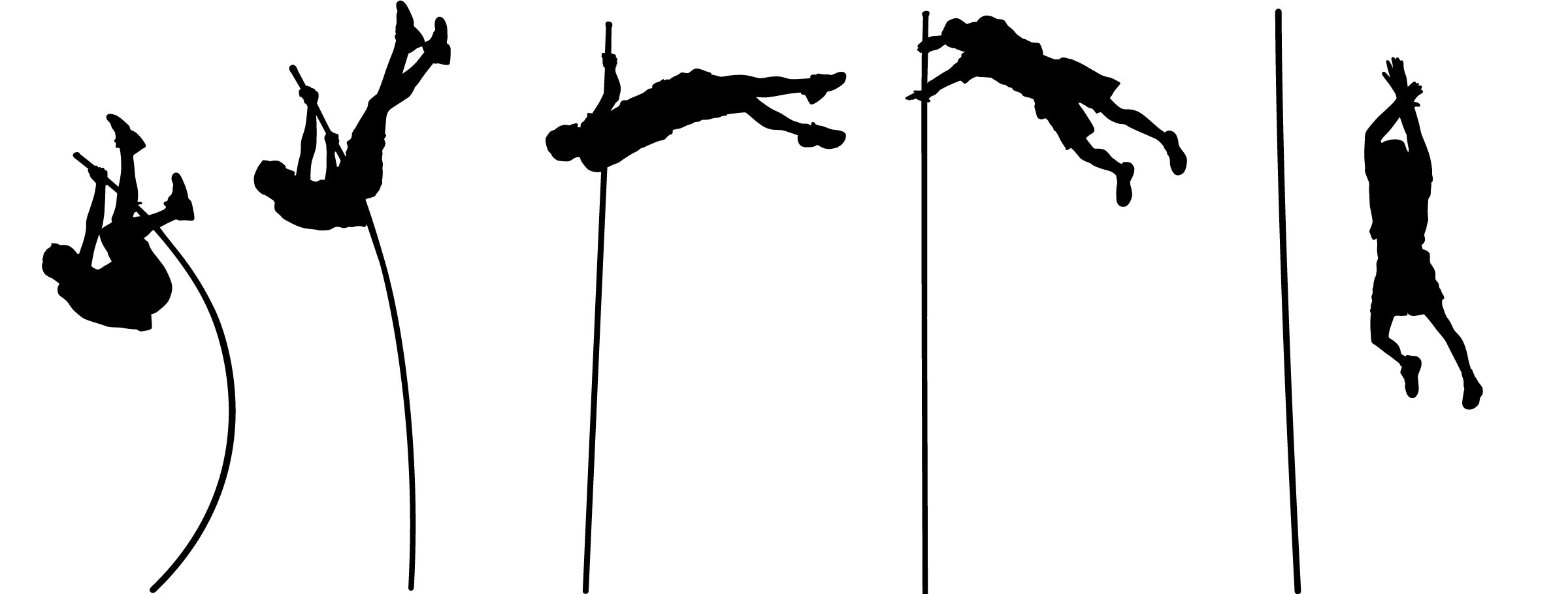 Pole vault clip art vector transparent library 17 Best images about Henry & Ryan Track & Field on Pinterest ... vector transparent library
