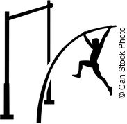 Pole vault clipart free graphic freeuse stock Pole vault Stock Illustrations. 460 Pole vault clip art images and ... graphic freeuse stock