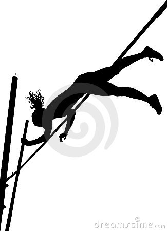 Pole vault clipart free graphic free stock Pole vault girl clipart - ClipartFest graphic free stock