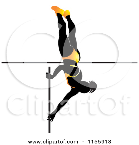 Pole vault clipart free clip art freeuse Royalty-Free (RF) Pole Vaulting Clipart, Illustrations, Vector ... clip art freeuse