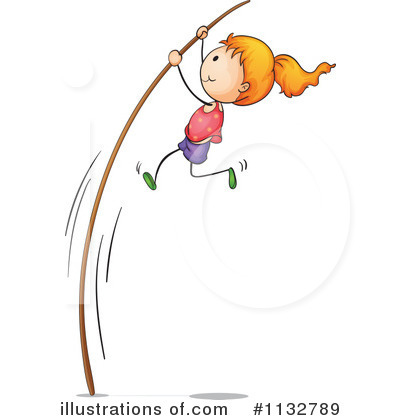 Pole vault clipart free png black and white download Pole-vault Clipart - Clipart Kid png black and white download