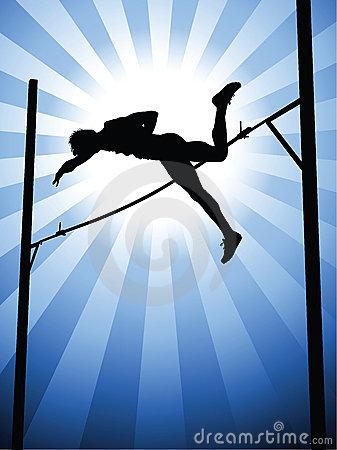 Pole vault clipart images picture freeuse download Pole Vault Stock Illustrations – 272 Pole Vault Stock ... picture freeuse download