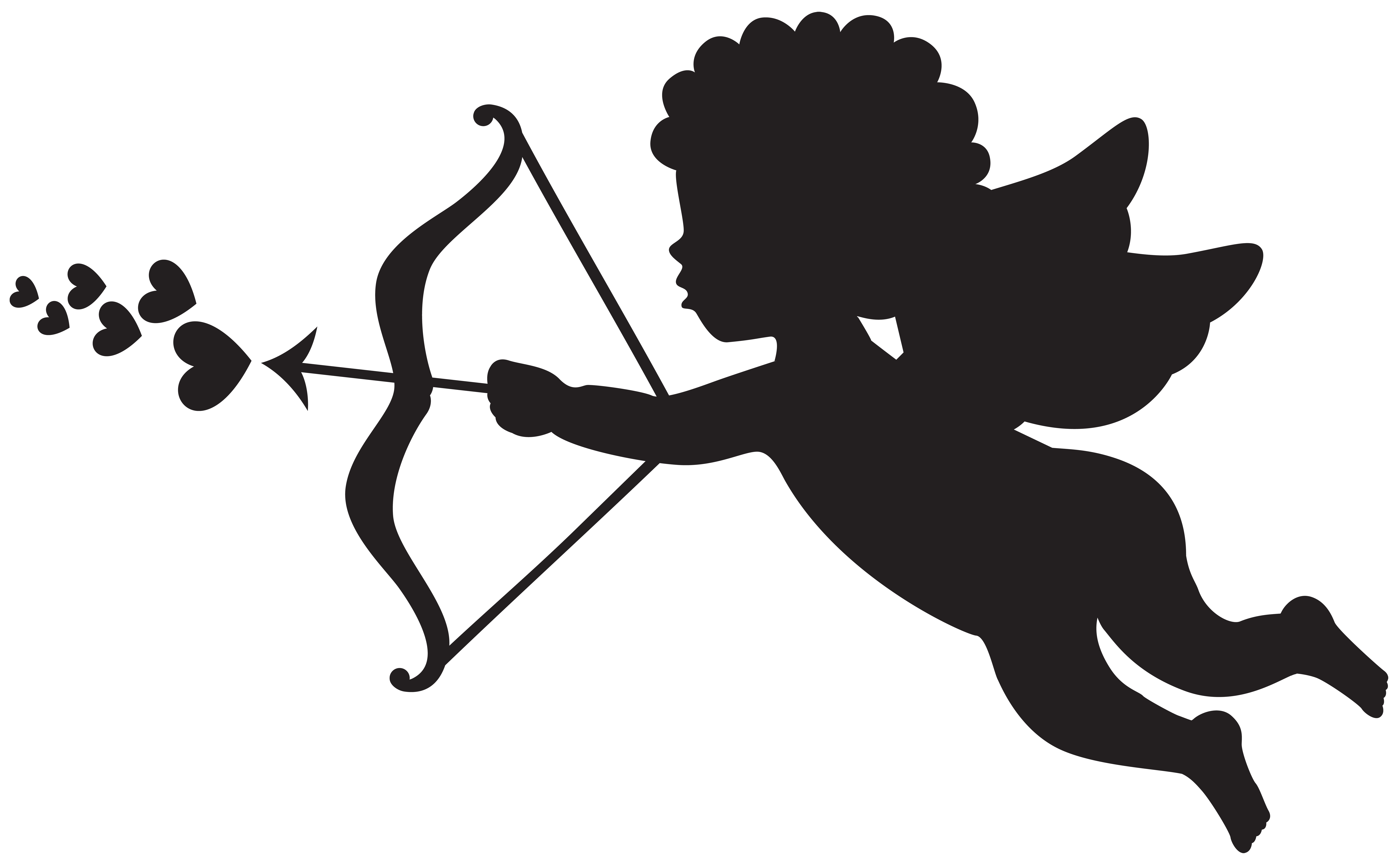 Pole vault clipart images vector download Cupid Silhouette PNG Clip Art   Gallery Yopriceville - High-Quality ... vector download