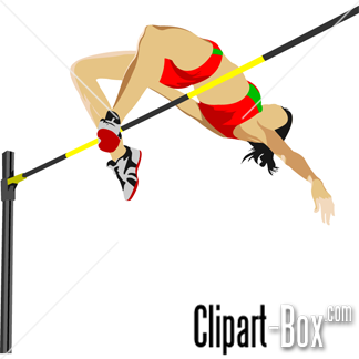 Pole vault girl clipart picture royalty free download CLIPART WOMAN HIGH JUMP | Royalty free vector design picture royalty free download
