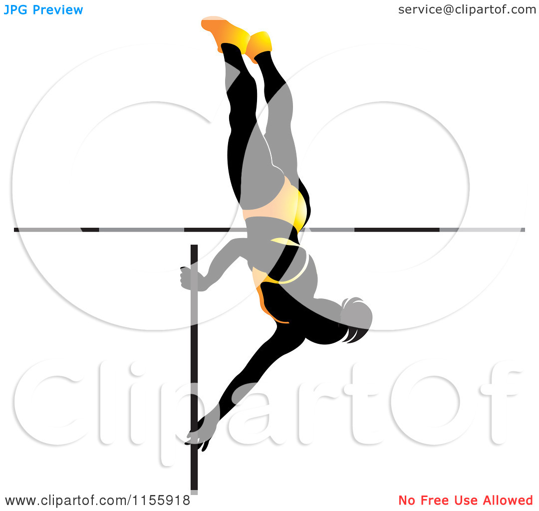 Pole vault girl clipart picture free Pole vault clipart free - ClipartFest picture free