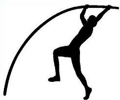 Pole vaulting clipart jpg royalty free library Track and field free track pole vault clipart | Track ... jpg royalty free library